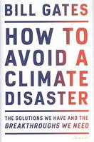 How to Avoid a Climate Disaster (Hardback)
