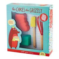 COFFRET CAKES GRIZZLY