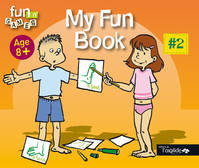 #2, Age 8 +, My fun book, Livre