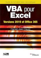 VBA pour Excel, Versions 2019 et Office 365
