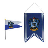Set banniere + drapeau Serdaigle - Harry Potter