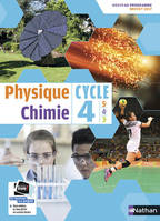 Physique Chimie - Cycle 4 - Manuel Elève - Grand Format - 2017