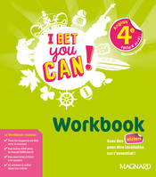 I bet you can ! anglais 4e, cycle 4, A2-B1 / workbook