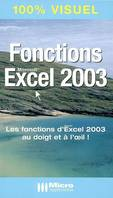 FONCTIONS EXCEL 2003, Microsoft