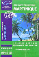 CR : MARTINIQUE MINI-CARTES 1/100 000