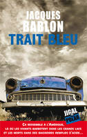 Trait bleu
