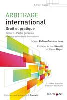 Arbitrage international, Droit et pratique (2 volumes)