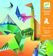 Dinosaures-Origami facile