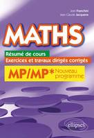 Maths, Cours, Exercices Et Travaux Diriges Corriges - Mp/Mp Programme 2014