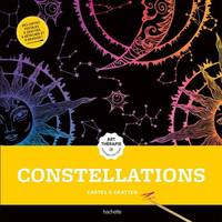 Cartes à gratter Art-thérapie Constellations