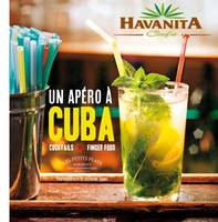 Un apéro à cuba, cocktails & finger food