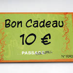 Carte cadeau Passage Culturel - 10€