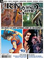 Role Playing Game nº63 octobre/novembre 2019