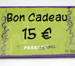 Carte cadeau Passage Culturel - 15€