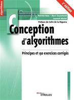 Conception d'algorithmes, Principes et 150 exercices corrigés