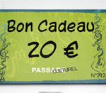 Carte cadeau Passage Culturel - 20€