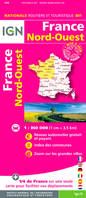 France Nord-Ouest au 1 : 350 000