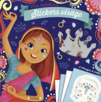 Stickers visage - Princesses du monde