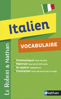 Vocabulaire Italien - Robert  Nathan