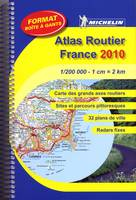 ATLAS ROUTIER FRANCE 2010