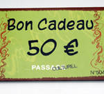 Carte cadeau Passage Culturel - 50€