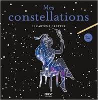 10 CARTES A GRATTER - MES CONSTELLATIONS
