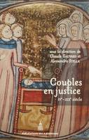 Couples en justice IVe-XIXe