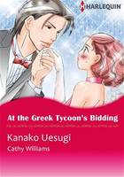 Harlequin Comics: At the Greek Tycoon's Bidding
