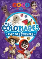 COCO - Mes coloriages avec stickers