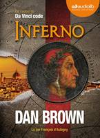 Inferno, Livre audio - 2 CD MP3 - 668 Mo + 658 Mo