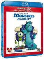 Monstres Academy  (blu-ray 3D + blu-ray 2D)
