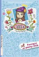 Le journal d'Ella, Tome 05, Panique au poney-club