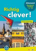 Richtig Clever Cycle manuel collège - Livre