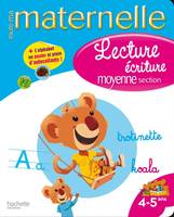 TOUTE MA MATERNELLE - Cahier Lecture-Ecriture MS