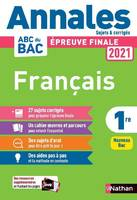 Annales ABC du Bac 2021 Français 1re