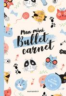 Mon mini bullet carnet chats - inclus 4 planches de stickers