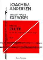 TWENTY-FOUR EXERCISES FLUTE TRAVERSIERE