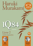 1Q84 Livre 2, Livre audio 2 CD MP3 - 630 Mo + 544 Mo