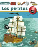 Les pirates, avec 2 planches d'autocollants
