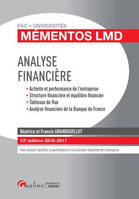 ANALYSE FINANCIERE 2016-2017 - 13EME EDITION