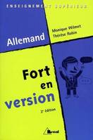 Fort en version, allemand