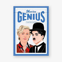 Movies Genius Playing Cards /anglais