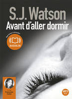 Avant d'aller dormir, Livre audio 1CD MP3 - 644 Mo