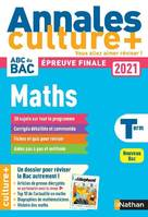 Annales BAC 2021 Maths Terminale - Culture +