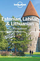Estonian, Latvian & Lithuanian Phrasebook 4Ed -Anglais-