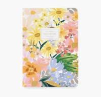 Notebook Marguerites couverture tissu 64 pages