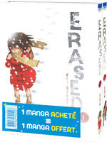Erased / pack tomes 1 et 2