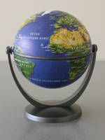 GLOBE SATELLITE TOURN.10CM