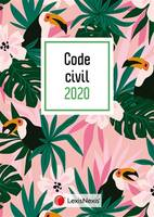 Code civil 2020 / jaquette toucan