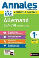 Annales ABC du Bac 2021 - Allemand Cycle terminal